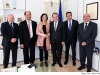 Speaker of the House of Representatives Anġlu Farrugia receives OSCE President Christine Muttonen on a courtesy visit